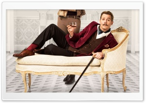 Mortdecai Johnny Depp 2015 HD Wide Wallpaper for Widescreen
