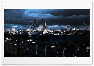 Moscow city 2015 ART.IRBIS Production HD Wide Wallpaper for Widescreen