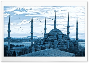 Mosque Ultra HD Wallpaper for 4K UHD Widescreen desktop, tablet & smartphone