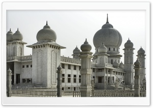 Mosque In India HD Wide Wallpaper for Widescreen