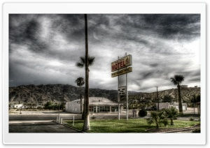 Motel HDR HD Wide Wallpaper for Widescreen