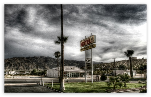 Motel HDR Ultra HD Desktop Background