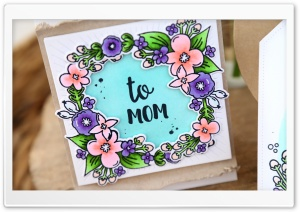 Mother's Day Card HD Wide Wallpaper for Widescreen