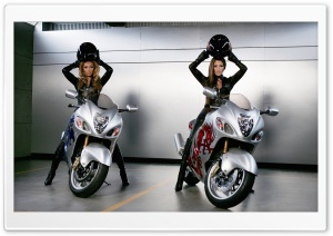 Moto Girls - J-Lo and Beyonce HD Wide Wallpaper for Widescreen