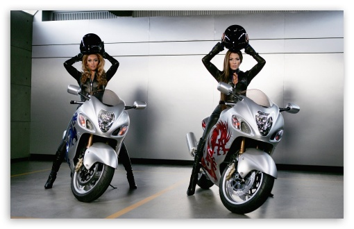 Moto Girls - J-Lo and Beyonce ❤ 4K UHD Wallpaper for Wide 16:10 5:3 Widescreen WHXGA WQXGA WUXGA WXGA WGA ; 4K UHD 16:9 Ultra High Definition 2160p 1440p 1080p 900p 720p ; Standard 4:3 5:4 3:2 Fullscreen UXGA XGA SVGA QSXGA SXGA DVGA HVGA HQVGA ( Apple PowerBook G4 iPhone 4 3G 3GS iPod Touch ) ; iPad 1/2/Mini ; Mobile 4:3 5:3 3:2 16:9 5:4 - UXGA XGA SVGA WGA DVGA HVGA HQVGA ( Apple PowerBook G4 iPhone 4 3G 3GS iPod Touch ) 2160p 1440p 1080p 900p 720p QSXGA SXGA ;