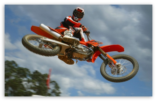 Download Motocross UltraHD Wallpaper
