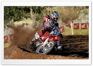 Motocross 58 HD Wide Wallpaper for Widescreen