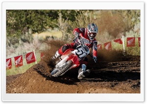 Motocross 66 HD Wide Wallpaper for Widescreen
