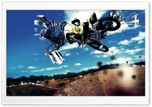 Motocross HD Wide Wallpaper for 4K UHD Widescreen desktop & smartphone