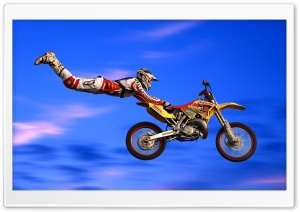 Motocross Jumps HD Wide Wallpaper for 4K UHD Widescreen desktop & smartphone