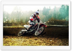 Motocross Rider HD Wide Wallpaper for Widescreen