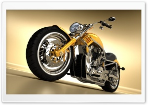 Motorcycle 3D Ultra HD Wallpaper for 4K UHD Widescreen desktop, tablet & smartphone