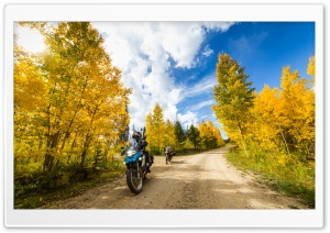Motorcycle Touring HD Wide Wallpaper for Widescreen