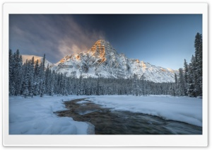 Mount Chephren, Banff National Park HD Wide Wallpaper for 4K UHD Widescreen desktop & smartphone