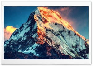 Mount Everest HD Wide Wallpaper for Widescreen