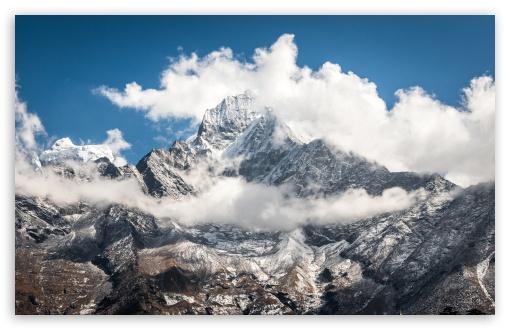 Mount Everest Himalaya Mountains Ultra Hd Desktop Background Wallpaper For 4k Uhd Tv Widescreen Ultrawide Desktop Laptop Tablet Smartphone