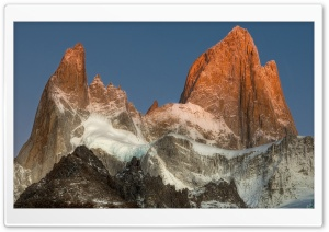 Mount Fitz Roy, Argentina HD Wide Wallpaper for Widescreen