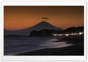 Mount Fuji at Sunset HD Wide Wallpaper for 4K UHD Widescreen desktop & smartphone
