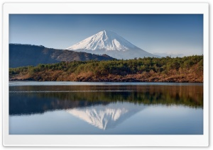 Mount Fuji Reflection HD Wide Wallpaper for 4K UHD Widescreen desktop & smartphone