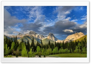 Mount Lougheed Alberta Canada HD Wide Wallpaper for Widescreen