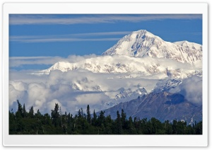 Mount McKinley HD Wide Wallpaper for 4K UHD Widescreen desktop & smartphone