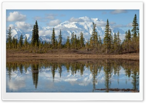 Mount Mckinley, Denali National Park, Alaska HD Wide Wallpaper for Widescreen