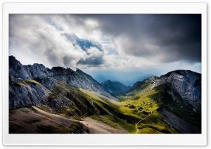 Mount Pilatus Switzerland HD Wide Wallpaper for 4K UHD Widescreen desktop & smartphone