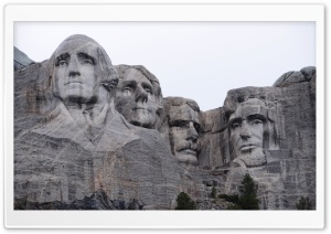 Mount Rushmore National Memorial, Pennington County, South Dakota, US HD Wide Wallpaper for Widescreen