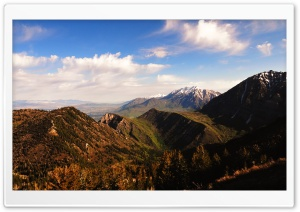 Mount Timpanogos From Above the Y Mountain HD Wide Wallpaper for Widescreen