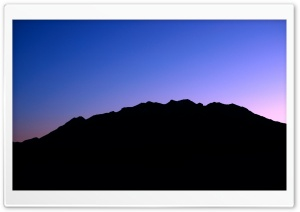 Mount Timpanogos Silhouette HD Wide Wallpaper for 4K UHD Widescreen desktop & smartphone