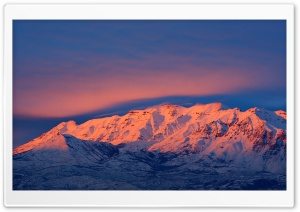 Mount Timpanogos Sunset HD Wide Wallpaper for Widescreen