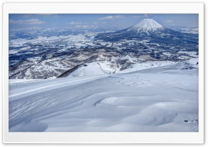 Mount Yotei HD Wide Wallpaper for Widescreen