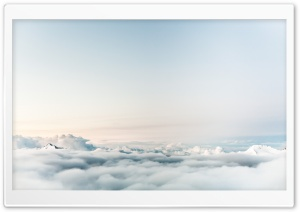 Mountain Above the Clouds HD Wide Wallpaper for Widescreen