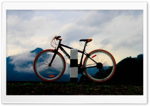 Mountain Bike HD Wide Wallpaper for Widescreen