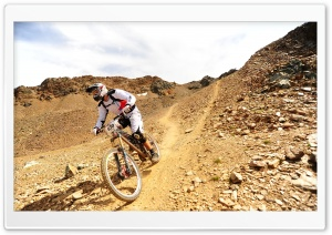Mountain Biking HD Wide Wallpaper for 4K UHD Widescreen desktop & smartphone