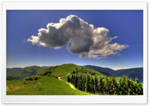 Mountain Cloud HD Wide Wallpaper for Widescreen