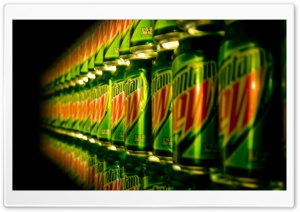 Mountain Dew Cans HD Wide Wallpaper for Widescreen