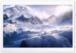 Mountain Expedition HD Wide Wallpaper for Widescreen