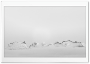 Mountain Fog HD Wide Wallpaper for Widescreen