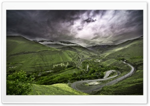 Mountain Highway HD Wide Wallpaper for Widescreen