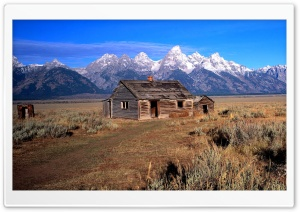 Mountain House HD Wide Wallpaper for Widescreen