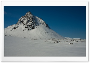 Mountain Krakatindur, Iceland HD Wide Wallpaper for Widescreen