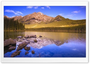 Mountain Lake 20 HD Wide Wallpaper for Widescreen