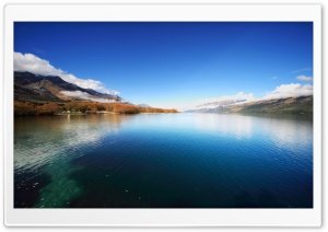 Mountain Lake, Autumn HD Wide Wallpaper for Widescreen