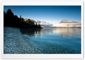 Mountain Lake Background HD Wide Wallpaper for Widescreen