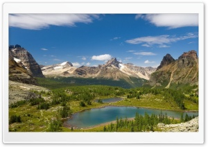Mountain Lakes HD Wide Wallpaper for Widescreen