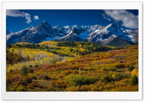 Mountain Landscape In Aspen, Colorado HD Wide Wallpaper for 4K UHD Widescreen desktop & smartphone