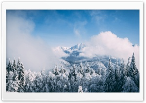 Mountain Landscape Winter Ultra HD Wallpaper for 4K UHD Widescreen desktop, tablet & smartphone