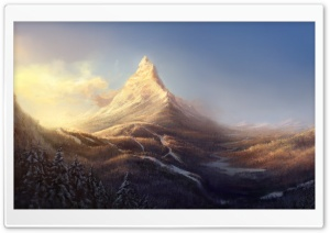 Mountain Peak HD Wide Wallpaper for Widescreen