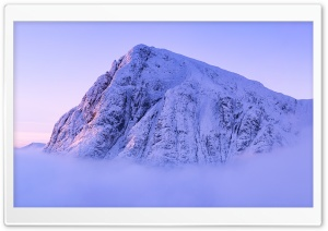 Mountain Peak Mist Photography HD Wide Wallpaper for Widescreen
